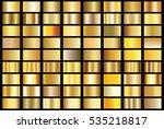 gold gradient background vector ... | Shutterstock .eps vector #535218817