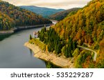 dam   lake dragan  from...   Shutterstock . vector #535229287