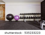 fitness hall with sport...