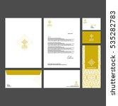 branding identity template... | Shutterstock .eps vector #535282783
