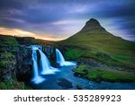 waterfalls  | Shutterstock . vector #535289923