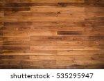 wooden texture background. teak ... | Shutterstock . vector #535295947