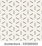 vector seamless pattern. modern ... | Shutterstock .eps vector #535300303