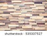 wood texture   ecological...   Shutterstock . vector #535337527