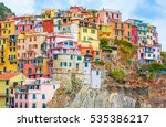 Colorful Houses In Manarola ...