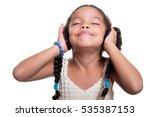 cute african american small...   Shutterstock . vector #535387153