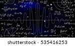 mathematical vector endless... | Shutterstock .eps vector #535416253