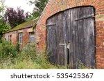 Old Rustic Farm Barn Doors  A...