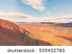 blue ridge mountains in autumn... | Shutterstock . vector #535432783