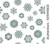 abstract christmass... | Shutterstock .eps vector #535445833