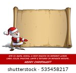 vector cartoon illustration of... | Shutterstock .eps vector #535458217