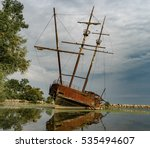 Abandoned Ship In Ontario