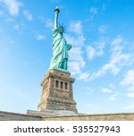 statue of liberty  new york... | Shutterstock . vector #535527943