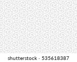 vintage abstract floral... | Shutterstock .eps vector #535618387