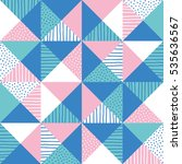 geometric background. vector...   Shutterstock .eps vector #535636567