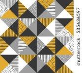 geometric background. vector...   Shutterstock .eps vector #535636597