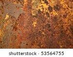 rusty metal | Shutterstock . vector #53564755