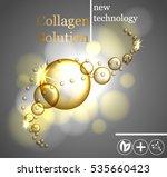 beauty skin care design over... | Shutterstock .eps vector #535660423