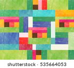 traditional pattern | Shutterstock . vector #535664053