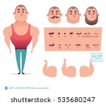 man character for your scenes... | Shutterstock .eps vector #535680247
