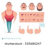man character for your scenes... | Shutterstock .eps vector #535680247