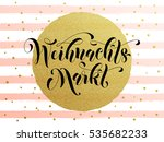 christmas sale market german... | Shutterstock .eps vector #535682233