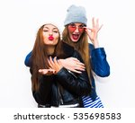close up lifestyle portrait of... | Shutterstock . vector #535698583