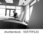 side view of young businessman... | Shutterstock . vector #535759123