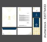 branding identity template... | Shutterstock .eps vector #535776433