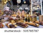 bruges  belgium   december 05... | Shutterstock . vector #535785787
