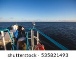 the russian icebreaker tug boat ... | Shutterstock . vector #535821493