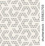 vector seamless pattern. modern ...   Shutterstock .eps vector #535821703