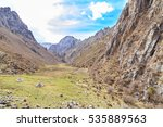 mountain gorge | Shutterstock . vector #535889563