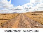 prairie road | Shutterstock . vector #535893283