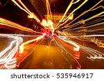 blurred city lights | Shutterstock . vector #535946917