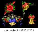 christmas elements for your... | Shutterstock .eps vector #535957717