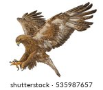 Golden Eagle Swoop Attack Hand...