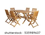 Wooden Garden Furniture On...