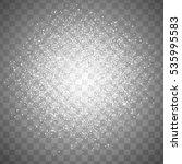neon white glittering snow dust ...   Shutterstock . vector #535995583