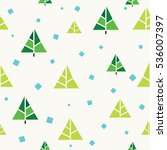 seamless pattern vector happy... | Shutterstock .eps vector #536007397