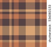 Traditional Plaid In Brown And...