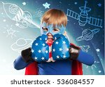 kid. | Shutterstock . vector #536084557