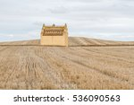 Dovecote And Harvested Cereal...