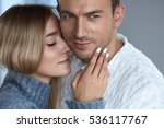 romantic relationships beauty.... | Shutterstock . vector #536117767