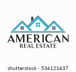 real estate  building ... | Shutterstock .eps vector #536121637