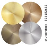 set of four different metal...   Shutterstock .eps vector #536153683