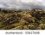 Lava Rocks Popping Out Of The...