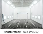 spray paint cabinet in a car... | Shutterstock . vector #536198017