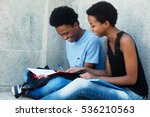 learning african american...   Shutterstock . vector #536210563