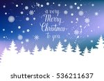 a very merry christmas to you... | Shutterstock .eps vector #536211637